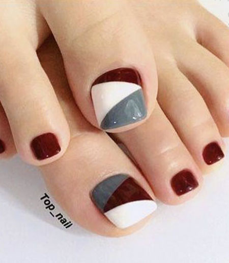 Manicure Red Toe Foot