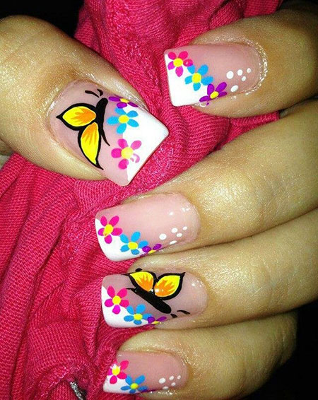 Manicure Butterfly Fashion Cute