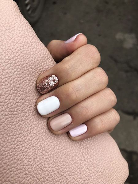 Manicure Natural Nude Tasarımı