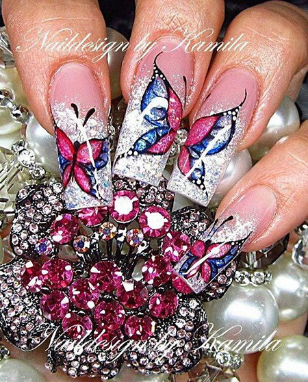 Butterfly Beautiful Christmas Acrylic