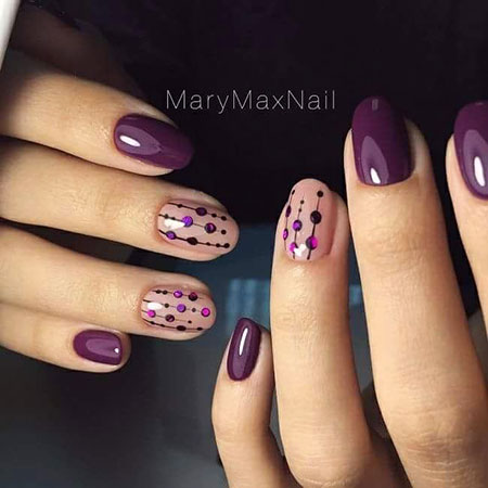 Manicure Purple