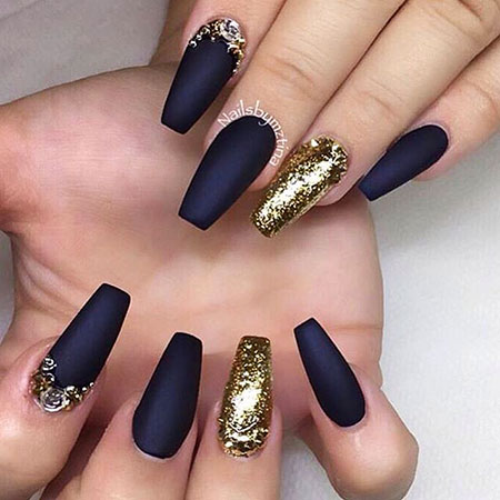 Gold Black Navy Blue