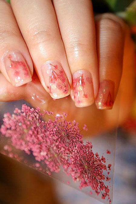 Flower Manicure Fashion