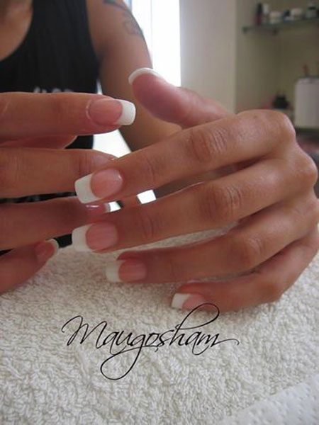 French Manicure Pedicure Manicures