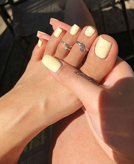Toe Manicure Manikúra Feet