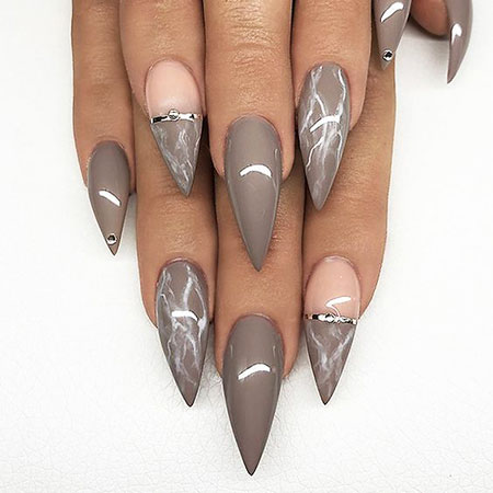 Stiletto Unghie Ongles Acrylic
