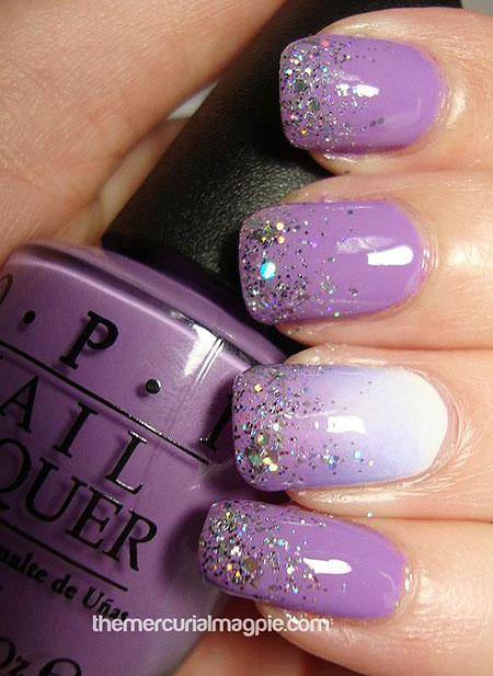 Purple Polish Bridal Glam