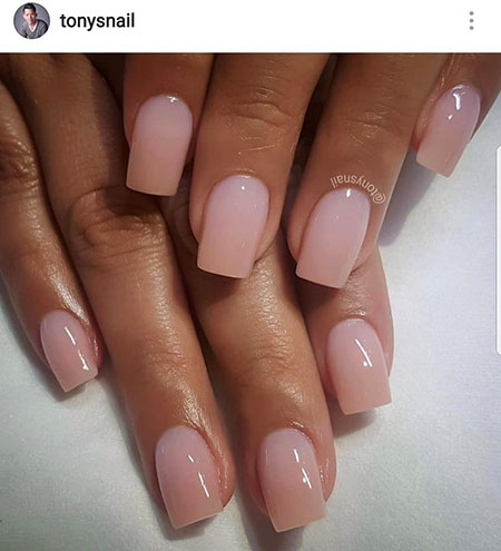 Natural Ombre Acrylic Polish