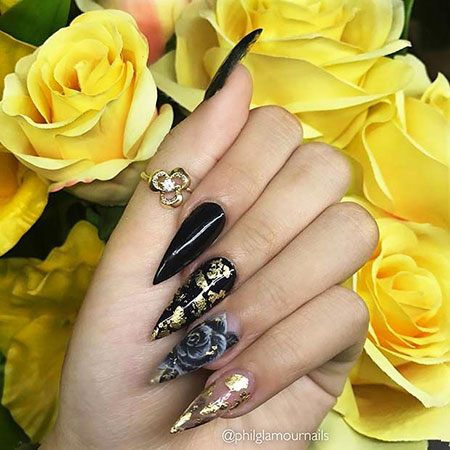 Gold Black Beautiful Love