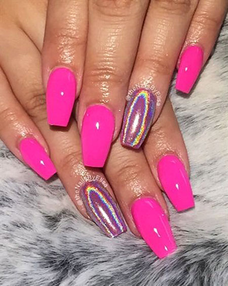 Pink Hot Gallery Nageldesign