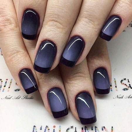Manicure Polish Ombre Purple