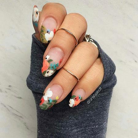 Spring Nail Design, Fun Color Manicure Spring