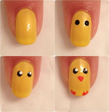 Cute Chick Nail Art, Easy Fall Super Ideas