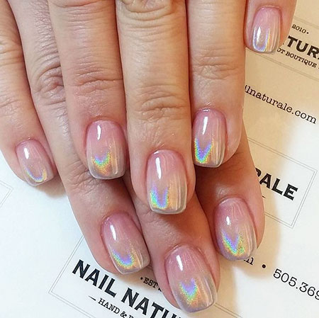Short Natural Nails, Manicure Short Ideas French