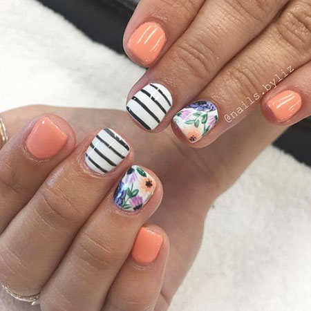 Manicure Gel Spring Summer