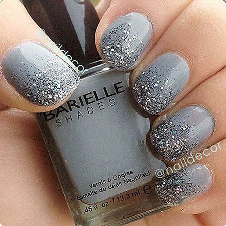 Ombre Glitter Polish New