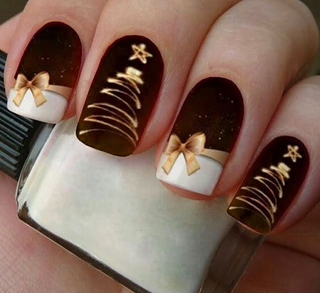 Fashion Nail Art Design, Classy Winter Natural Acrylic