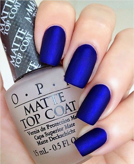 Matte Polish Blue Best