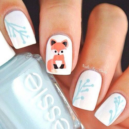 Winter Manicure Cool Decoradas