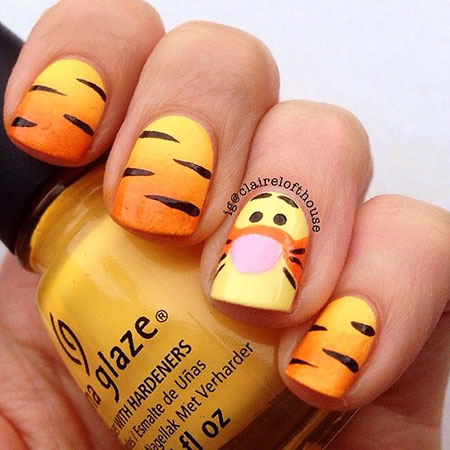 Yrnails Disney Halloween Transfer
