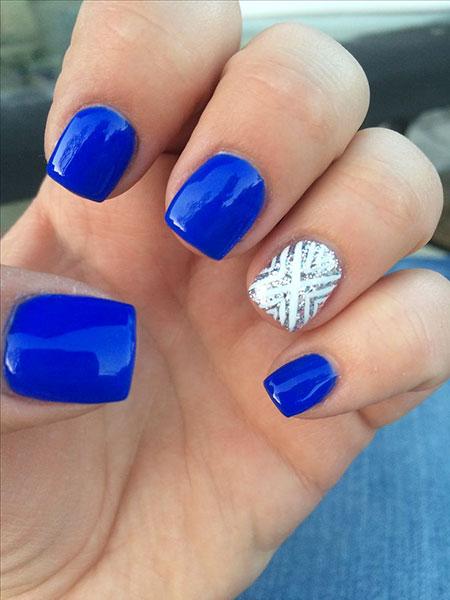 Blue Cute Pretty Gel