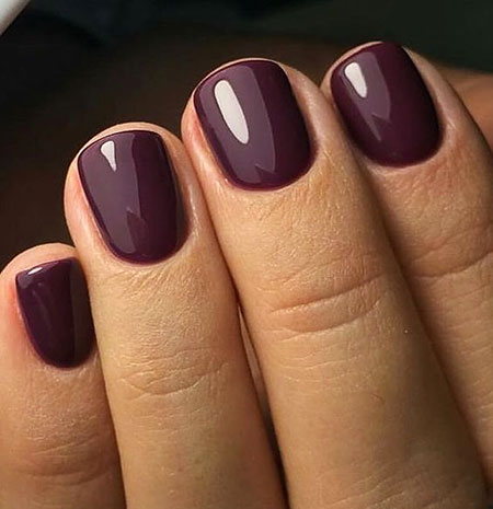 Manicure Most Dark Fall