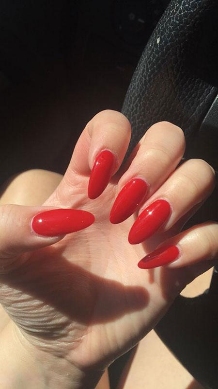 Red Manicure Paznokcie Team