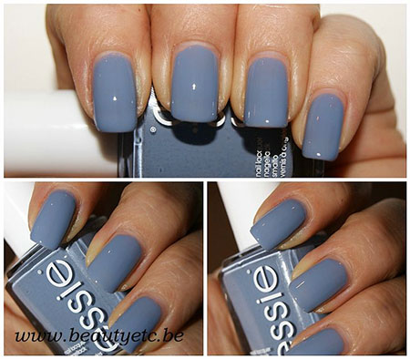 Pale Blue Nails, Essie Colors Polish Blue