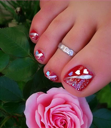 Cute Pink Toe Nails, Toe New Pedicure Manicure