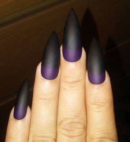 Stiletto Fake Matte Black
