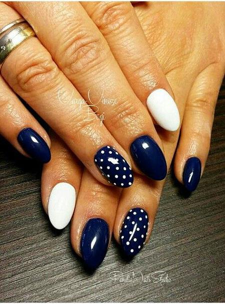 Polka Manicure Dot White