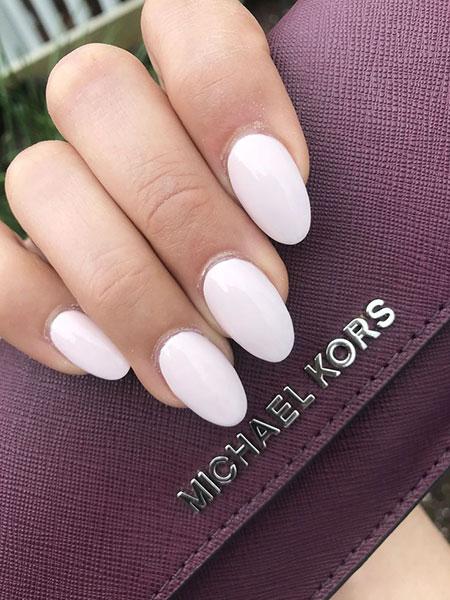 Almond Manicure Acrylic Paznokcie