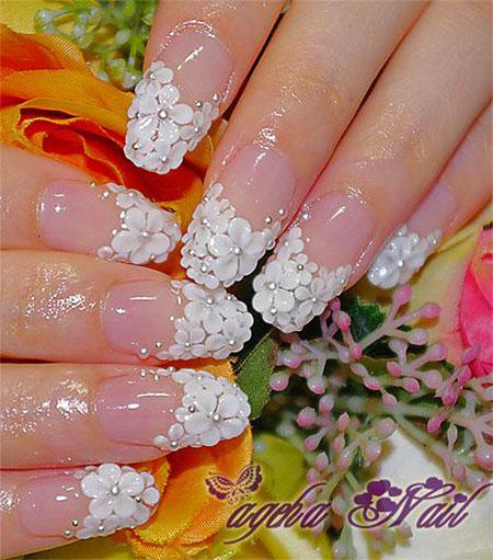 Mint Cute Manicure ブライダル