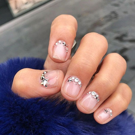 Simple Very Short Nails, Manicure Chic Short Trends