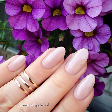 Manicure Nude Real Oval