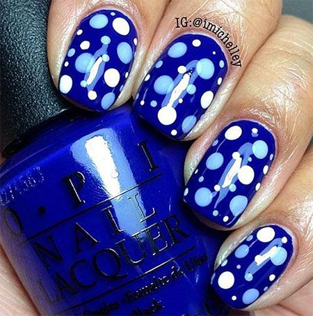 Dots Polka Blue Home