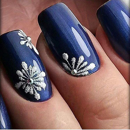 Manicure Cute Colors Winter