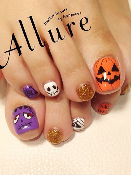 Halloween Toe Trendy Disney