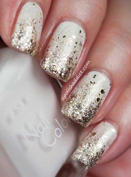 Glitter Nail, Glitter, Polish Nail Polish, Swatch, Sparkle Sparkle, Happy [