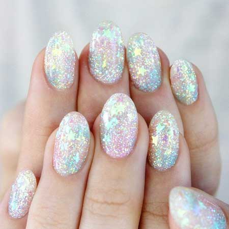 Glitter Nail Mermaid Glitter, Polish, Sparkle, Mermaid, Idea, S