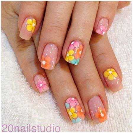 Polka Dots, Art, Summer Fruity Nail, Dots, Polka, Spring