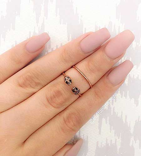 Rings Gold, Knuckle Rings, Midi Rings, Jewelry, Glass Nail, Nail Ring, Midi, Matte,
