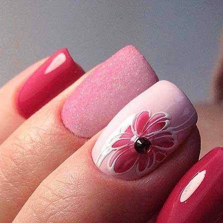 Pink, Pink Pretty Nail, Polish, Pink Bow, Art, Nail Polish, Bow, Pretty