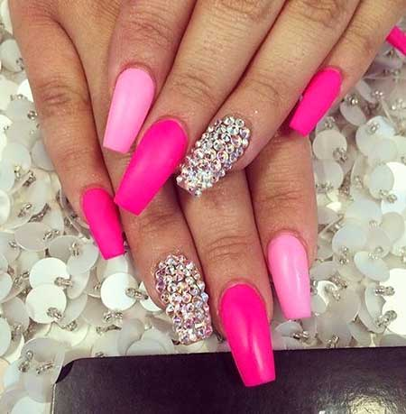Nail, Pink Pink, Stilettopretty Nail, Beauty Long, Stiletto, Idea, Pretty