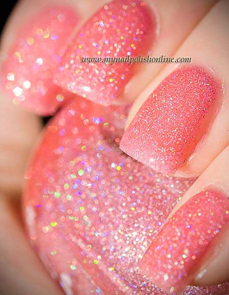 Polish, Swatch, Nail Polish, Zoya, Pink, Glitter, Opi,