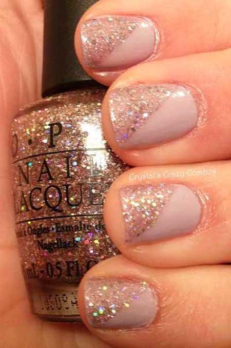 Glitter Nail, Glitter, Sparkleopi, Nail Polish, Sparkle, Easy