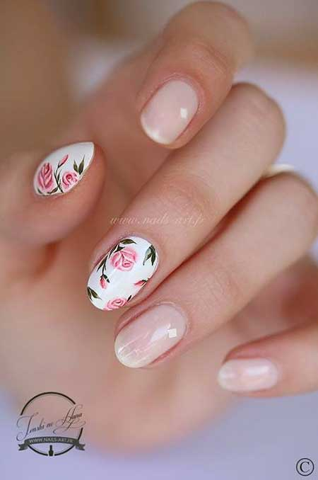 Art, Springrose Manicures, Valentine Nail, S, Rose