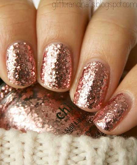 Polishlitter Naillitter, Nail Polish, Sparkle China Glaze, Swatch, Sparkly G