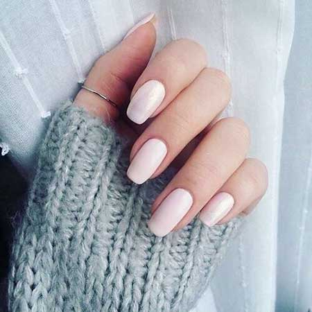 Pink Nude Nail, Baby Pink Light Pinkcoffin Light