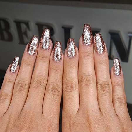 Glitter Nail, Glitter, Polish, Sparkle, Little